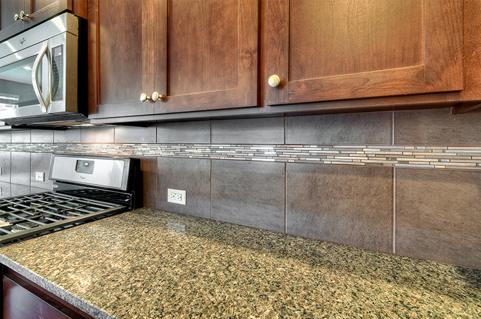 High-end laminate counters